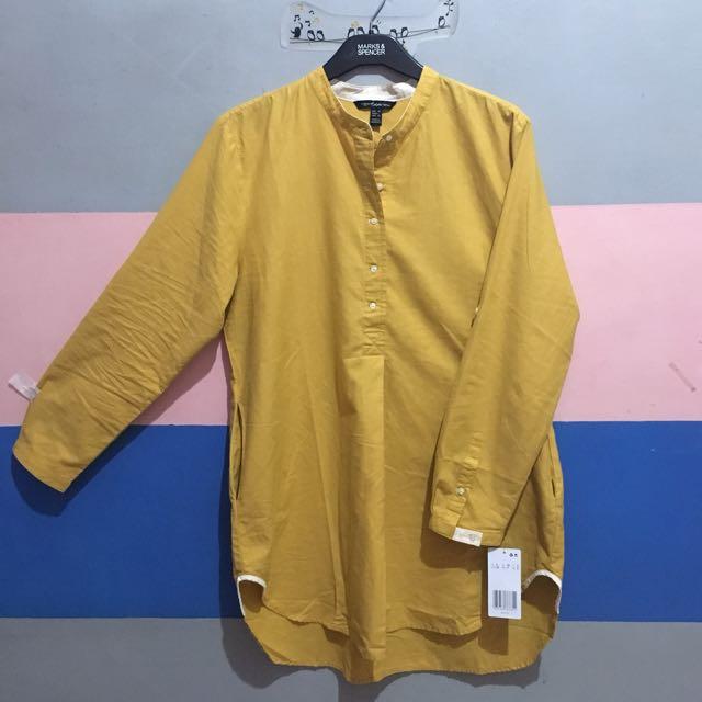Tunik Mustard Model A-Line