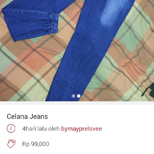 TURUN HARGA!! Celana jeans jogger