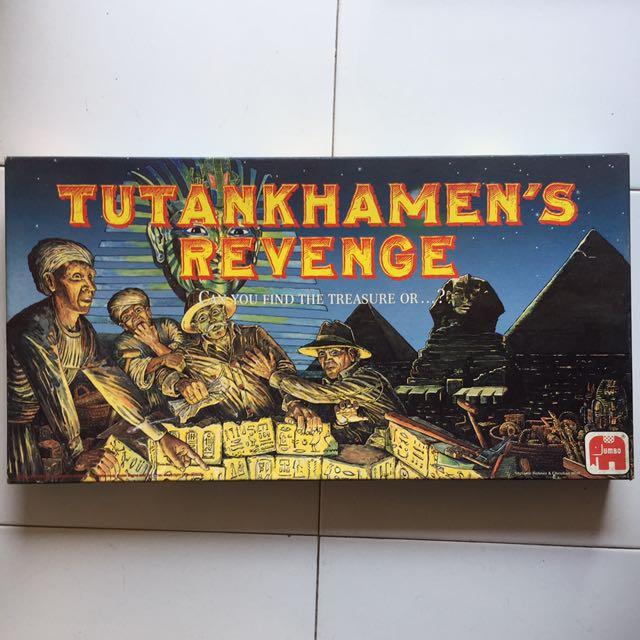 Tutankhamen's Revenge Jumbo Board Game, Toys & Games, Board