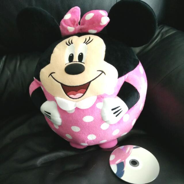 TY Minnie Beanie Ball - XL Size