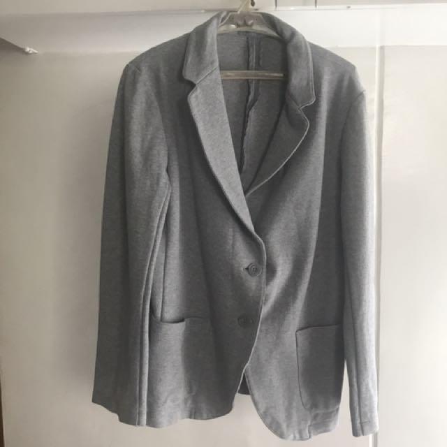 Uniqlo (Overrun) Blazer - Gray