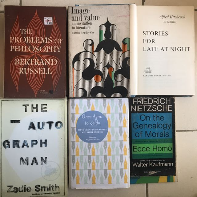 Various Novels/Books
