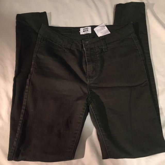 Vero Moda Dark Green Jeans
