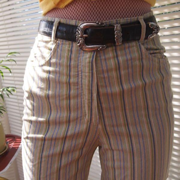 vintage striped pants