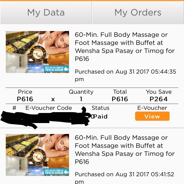 Wensha Spa (2 vouchers available)