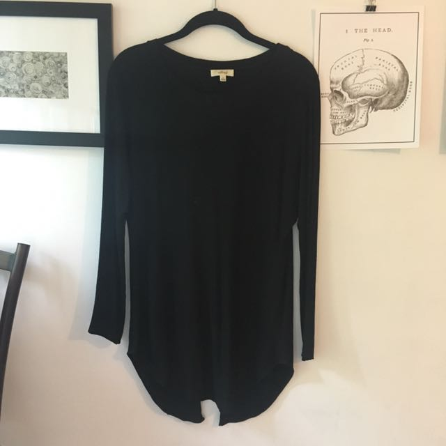Wilfred Long Sleeve with Slit in Back