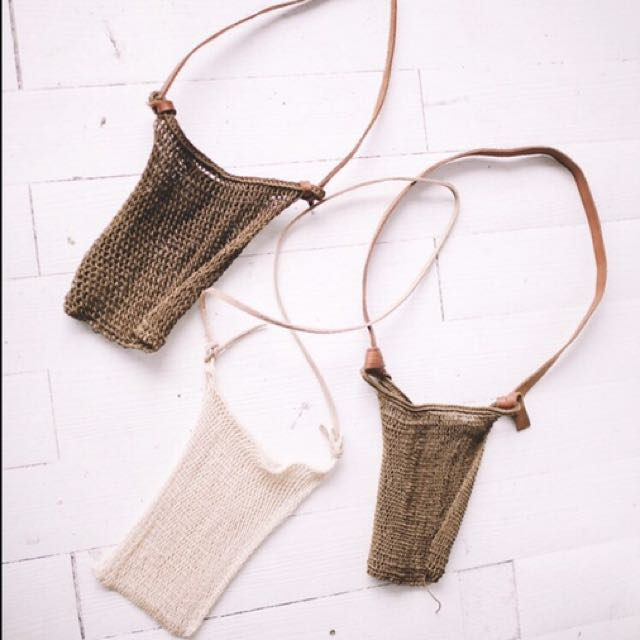 Woven Maguey bags