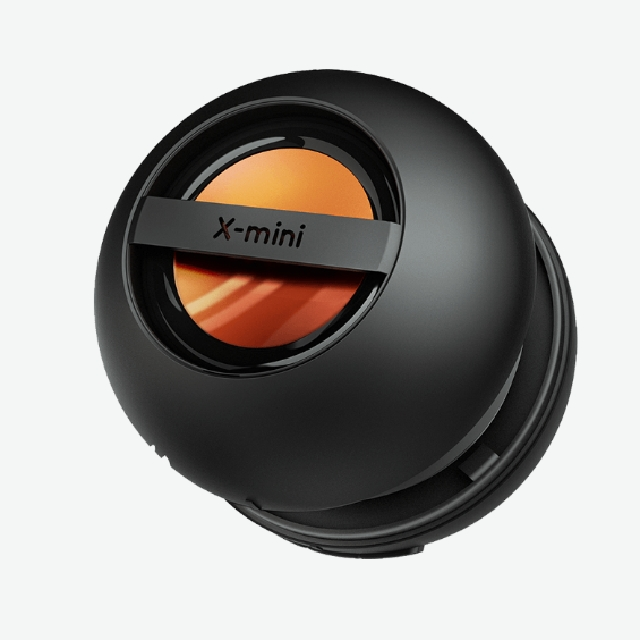 X-mini KAI2 Capsule Speaker Black Red Purple