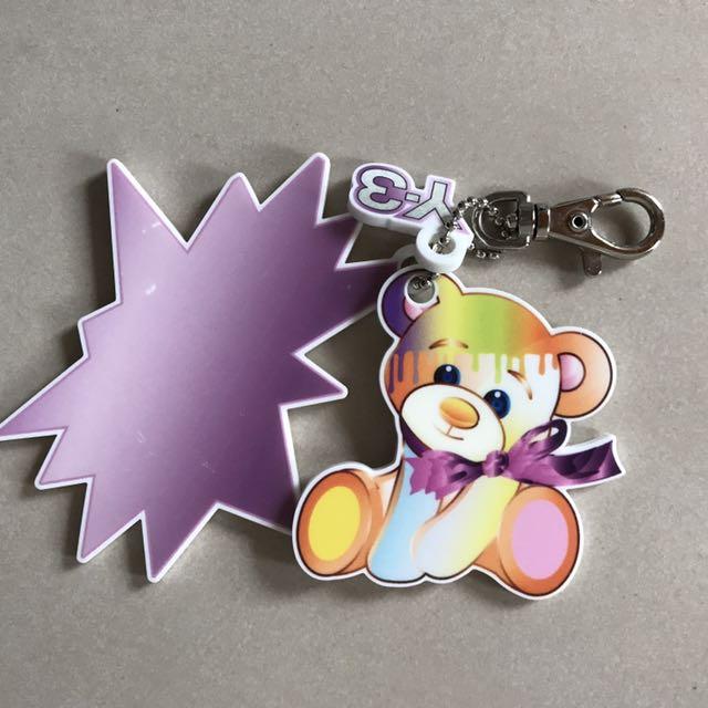 Y-3 壓克力鑰匙圈 熊仔