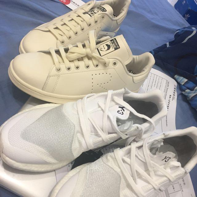 Y3 和 Raf Adidas