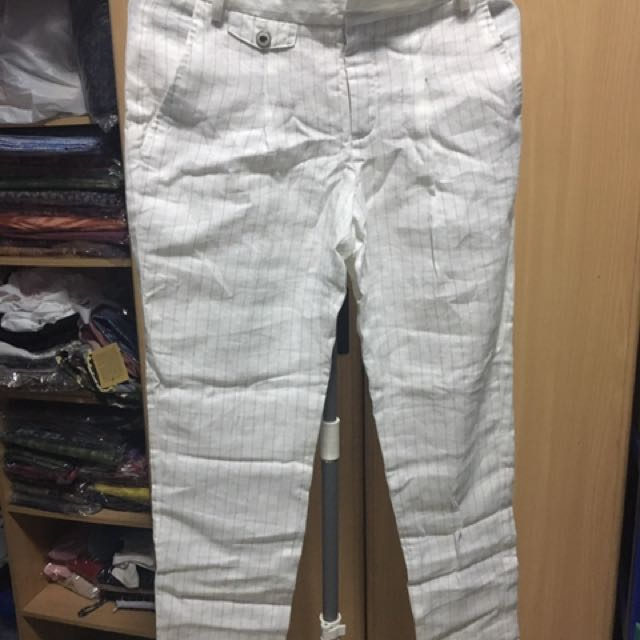 Zara Pants (Line pattern)