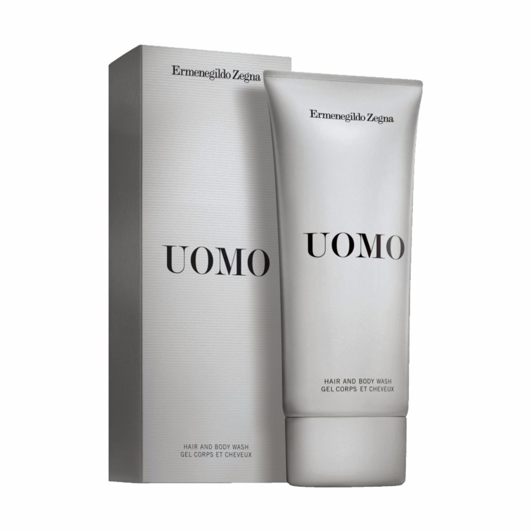 Zegna uomo hair and body wash 200ML 33f624d4b17