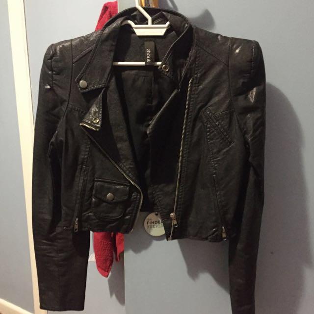 ZHOUK Leather jacket PVC