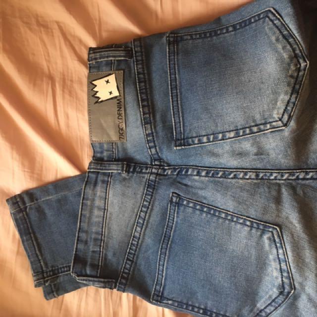 Ziggy denim mid rise skinny jeans size 6-8