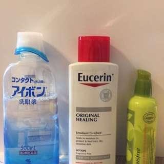 Eyes cleaner, Eucerin Original Healing, Eye remover