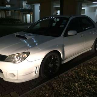 Impreza Bonnet W Scoop