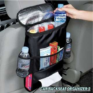 Thermal Car Back Seat Organizer