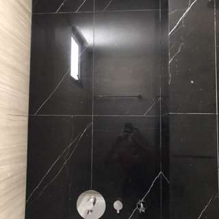 Marble Feature Wall Polishing