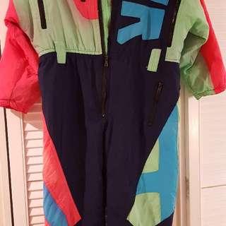 Child ski suiy