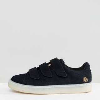 Puma X Careaux Basket Strap Sneakers In Black