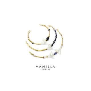 [網路價] Vanilla Jewelry 獨家設計款- [姐妹分享 3條特惠組] 純手工天然石黃銅手鍊-可客製