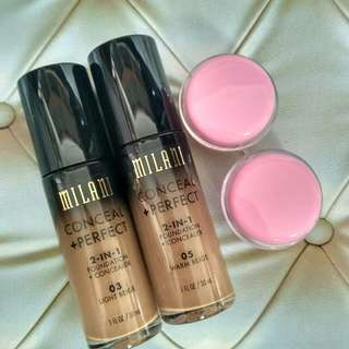 (Share in Jar) Milani 2-in-1 foundation & concealer