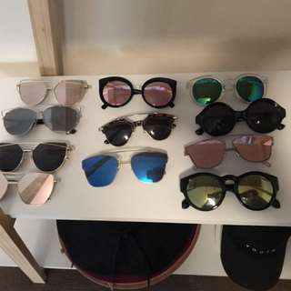 Trendy Mirror Sunglassses $10 Ea Deception Bay