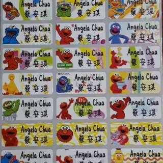 Cheap Children's Day Name Stickers