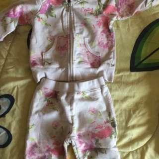 Juicy 12 month track suit
