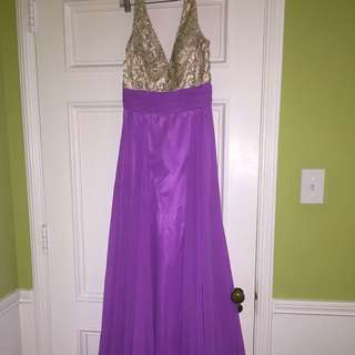Tiffany Designs Prom dress only worn once 10/10 condition
