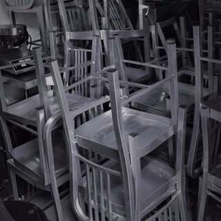 Welded Metal Chairs / Events Chair / Metal Chair / Chair Rental