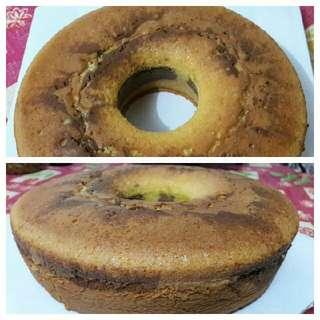 Marmer Cake Home Made Loyang 26