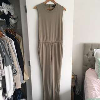 Missguided Khaki Jumpsuit