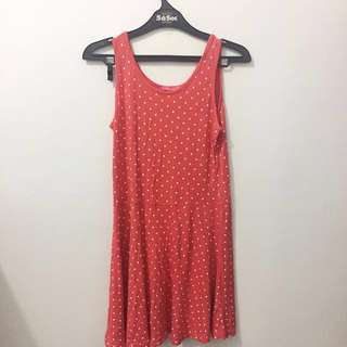 pink polka dot dress + outer by chicgirl