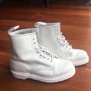 Doc martins - White