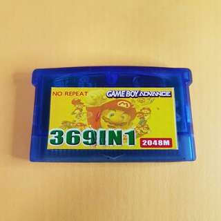 Game Boy Advance GBA 369in1 Multicard Game Super Game