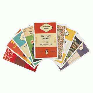 Postcards Of Vintage Penguin Books