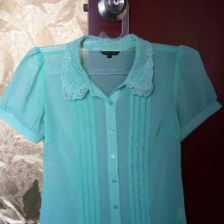 [The Executive] Mint Top