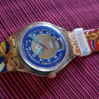 Collectable Swatch Automatic Olympic Watch