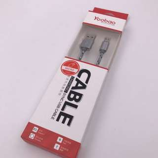 USB Cable for Android Smartphone (Yoobao YB-423)