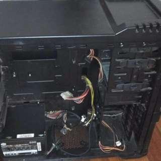 psu 500w cooler master n casing
