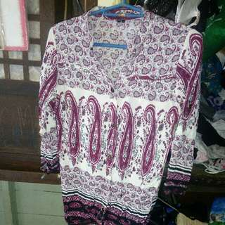 3/4 Pasley blouse