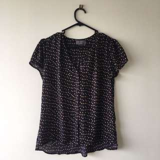 Mirrou Blouse Size 8
