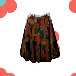 🔴 Abstract Mid Skirt 🔴