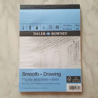 DALER ROWNEY Smooth Drawing Pad