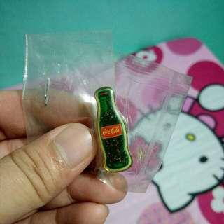 Vintage Coca Cola Button Pin