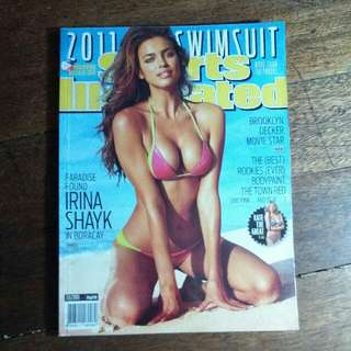 Irina Shayk Sports Illustrated (Philippines Release)