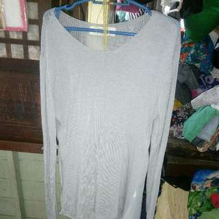 Long back Light Knit Style