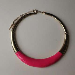[PL] Hot Pink Statement Necklace