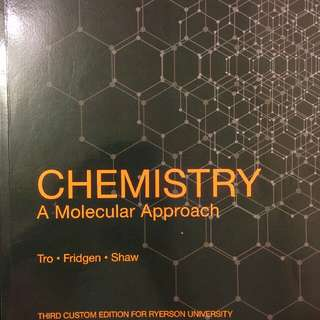 Ryerson: first year engineering chemistry textbook
